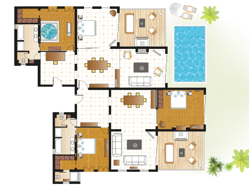 presidential-beach-residence-with-private-pool-floorplan