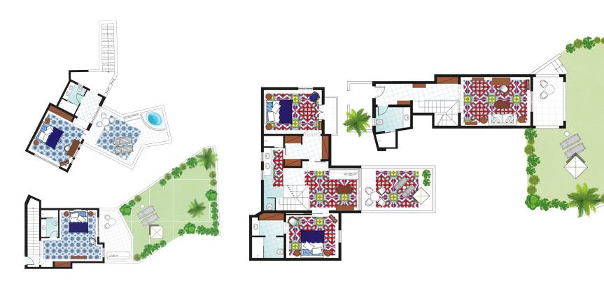 2-Bedroom-Caramel-Villa-Luxury-Accommodation-Floorplan