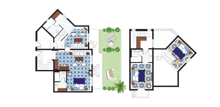 3-Bedroom-Maisonette-Beach-Villa-Floorplan