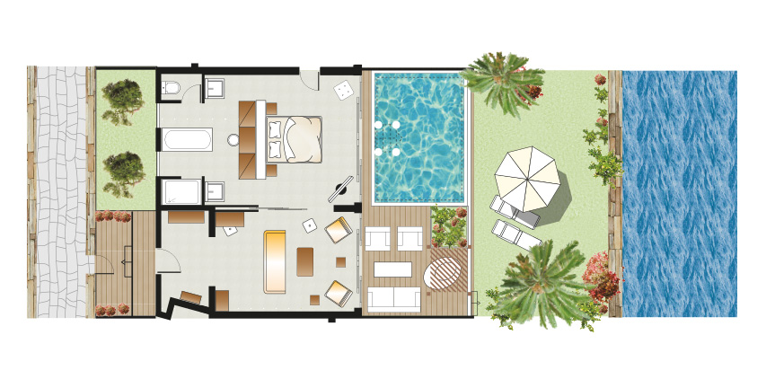 junior-presidential-villa-with-private-heated-pool-floorplan