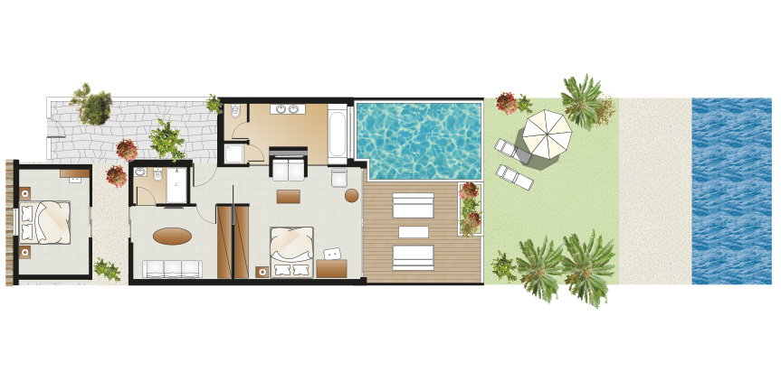 luxury-beach-villa-seafront-with-private-pool-and-garden-floorplan