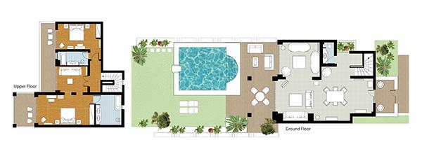 creta-palace-presidential-villa-private-pool-floorplan