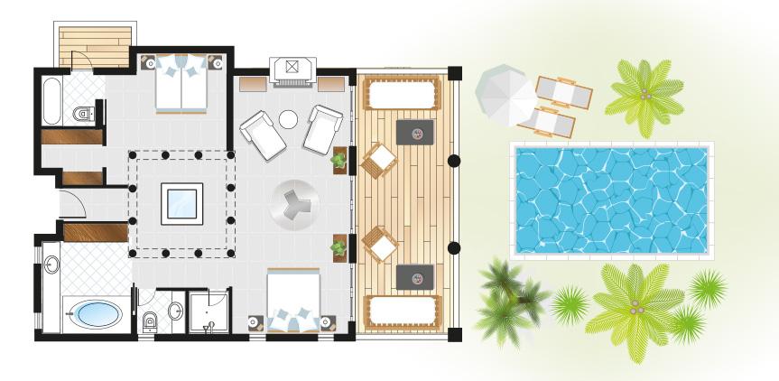 marble-villa-private-pool-in-kyllini-peloponnese-floorplan